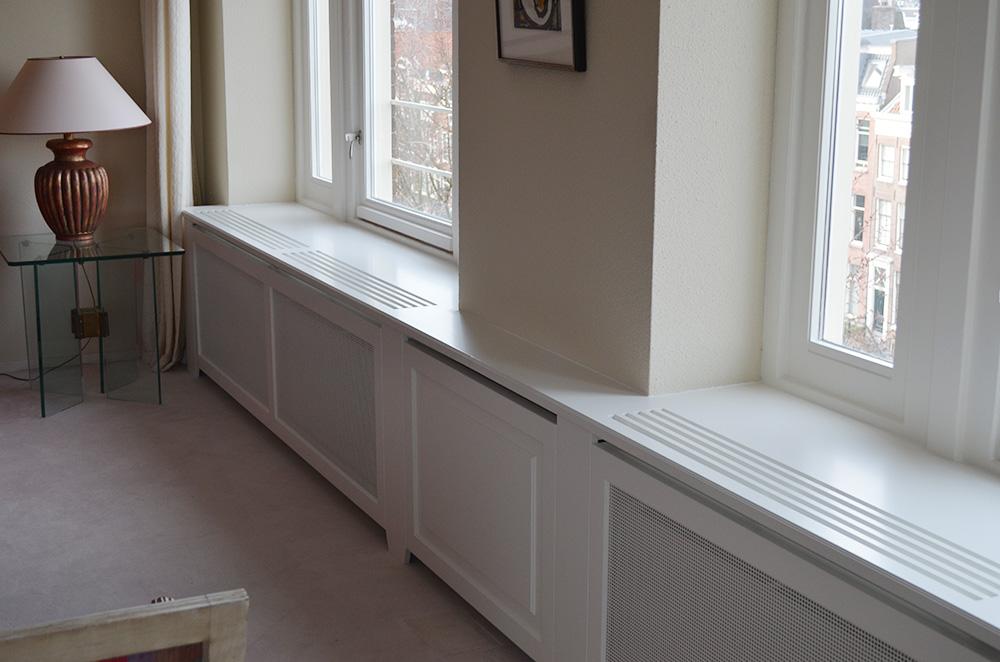 radiator betimmeringen : Chris van den Bosch : Interieur en montage